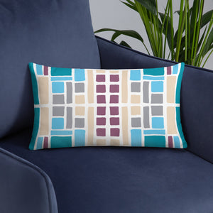 Boxes 24 THROW PILLOW pillow- Doodles by Wessel
