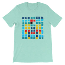 Load image into Gallery viewer, Boxes - 3 - WHITE GRAPHIC ART T-SHIRT t-shirt- Doodles by Wessel