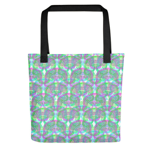 Self Preservation Society logo 1 WHITE Tote- Doodles by Wessel