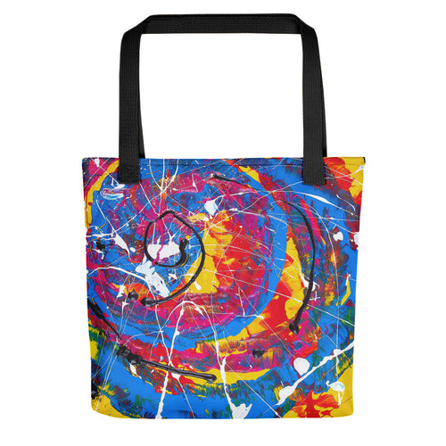 Abstract - UNTITLED Tote- Doodles by Wessel