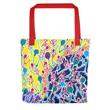 Load image into Gallery viewer, The Stick Figures 1 Tote- Doodles by Wessel