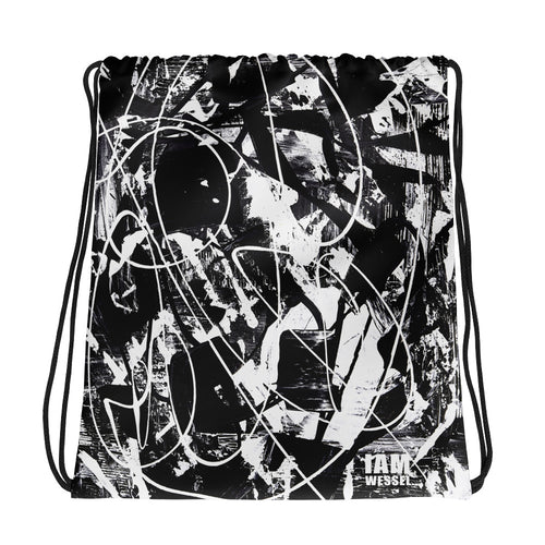 Abstract Experimentation Bare Bones Tote- Doodles by Wessel