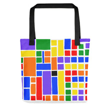 Load image into Gallery viewer, Boxes Series 6 - 1 Tote- Doodles by Wessel