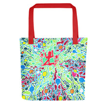 Load image into Gallery viewer, The Stick Figures 3 - GRAPHIC ART TOTE Tote- Doodles by Wessel