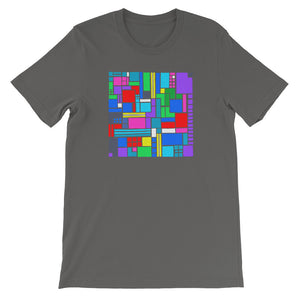 Boxes 6 - 2 - ASPHALT GRAPhiC ART TSHIRT t-shirt- Doodles by Wessel