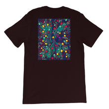 Load image into Gallery viewer, The Stick Figures - 4 - FRONT LOGO BACK ARTWORK T-SHIRT t-shirt- Doodles by Wessel