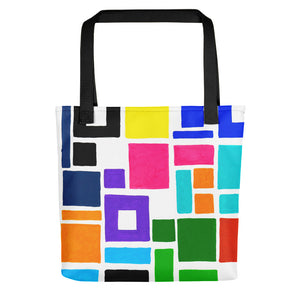 Boxes Series 2 - 5 Tote- Doodles by Wessel