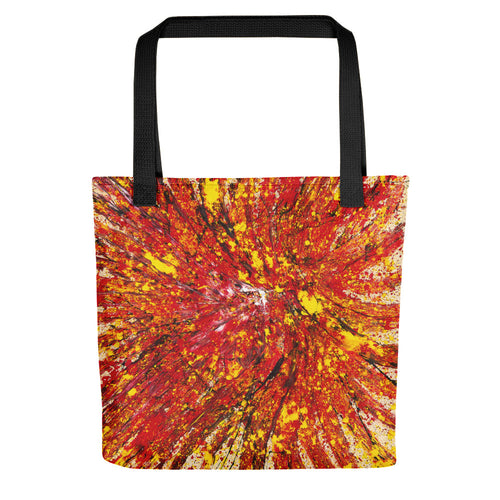 abstract - Untitled 12 Tote- Doodles by Wessel