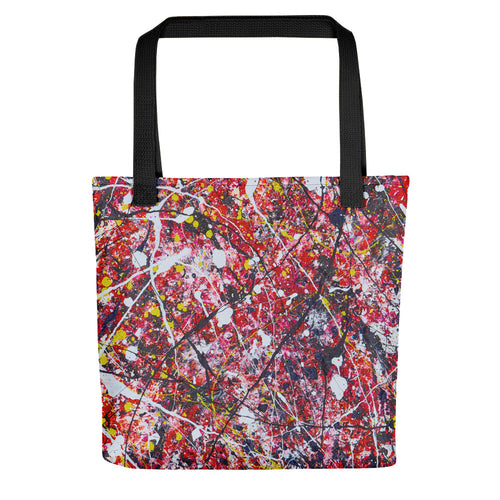 Abstract - SPATIAL Tote- Doodles by Wessel