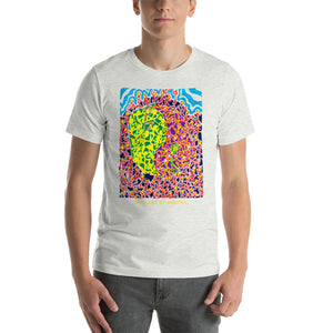 Doodles by Wessel - The Stick Figures 6 UNISEX T-SHIRT t-shirt- Doodles by Wessel