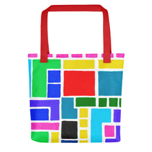 Load image into Gallery viewer, Boxes Series 3 - 5 Tote- Doodles by Wessel