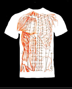 Acupuncture T-Shirt. 2 Sided