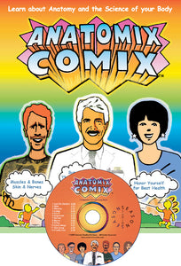 Anatomix Comix Songbook & CD