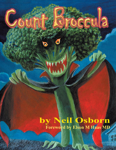 Count Broccula Kids Storybook