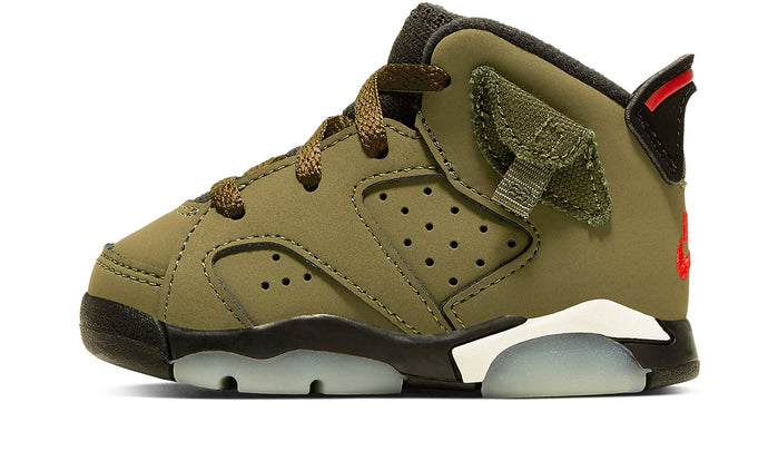 "Air Jordan 6  ""Travis Scott"" Baby"