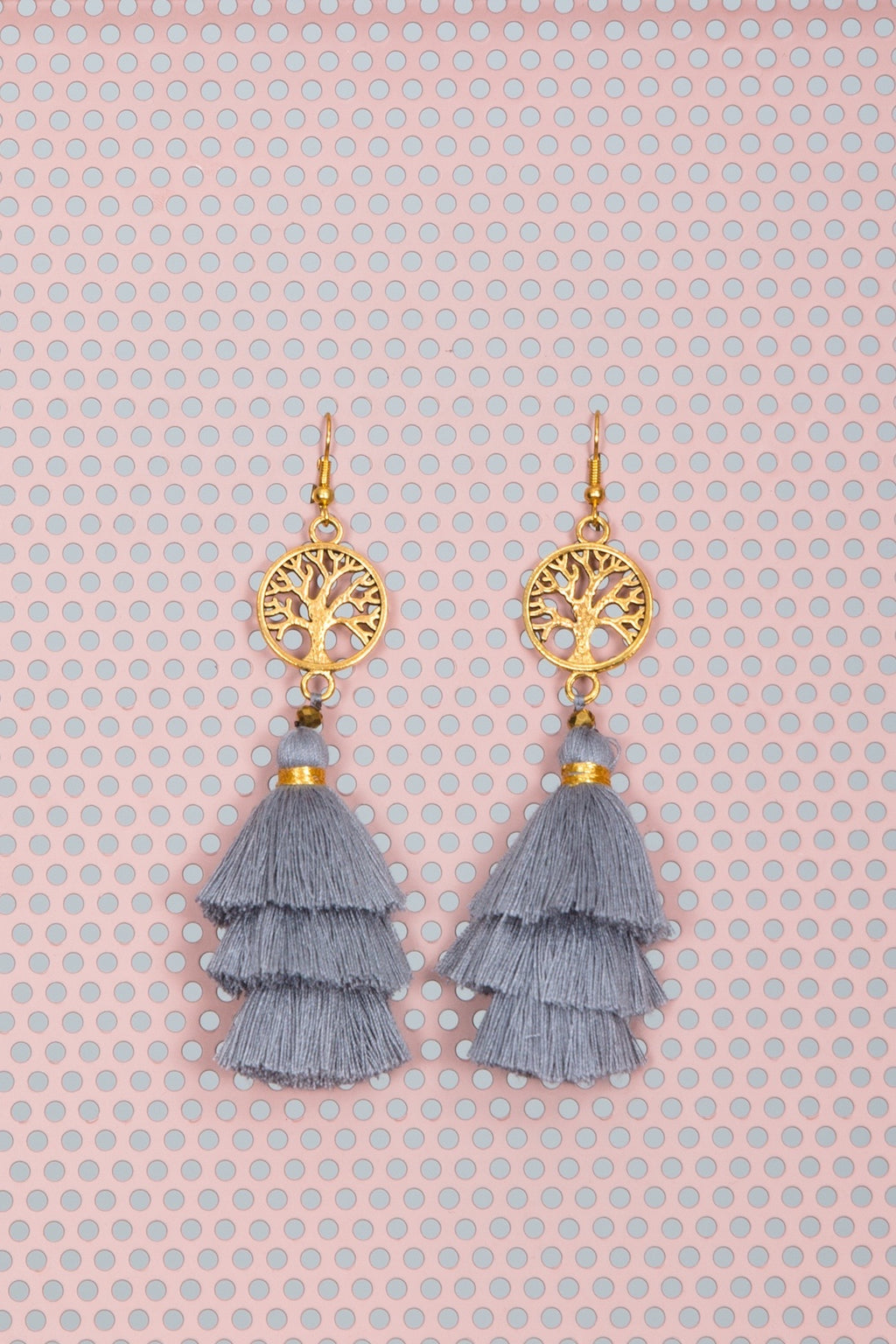 Wiluna Earrings Ash by Hamec Spirit