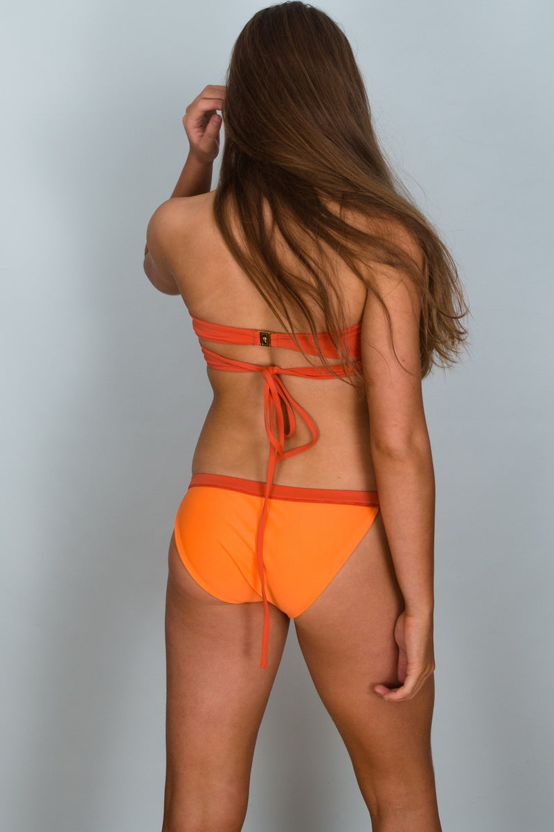 Back of Bronte Band Bottom Bikini by Hamec Spirit