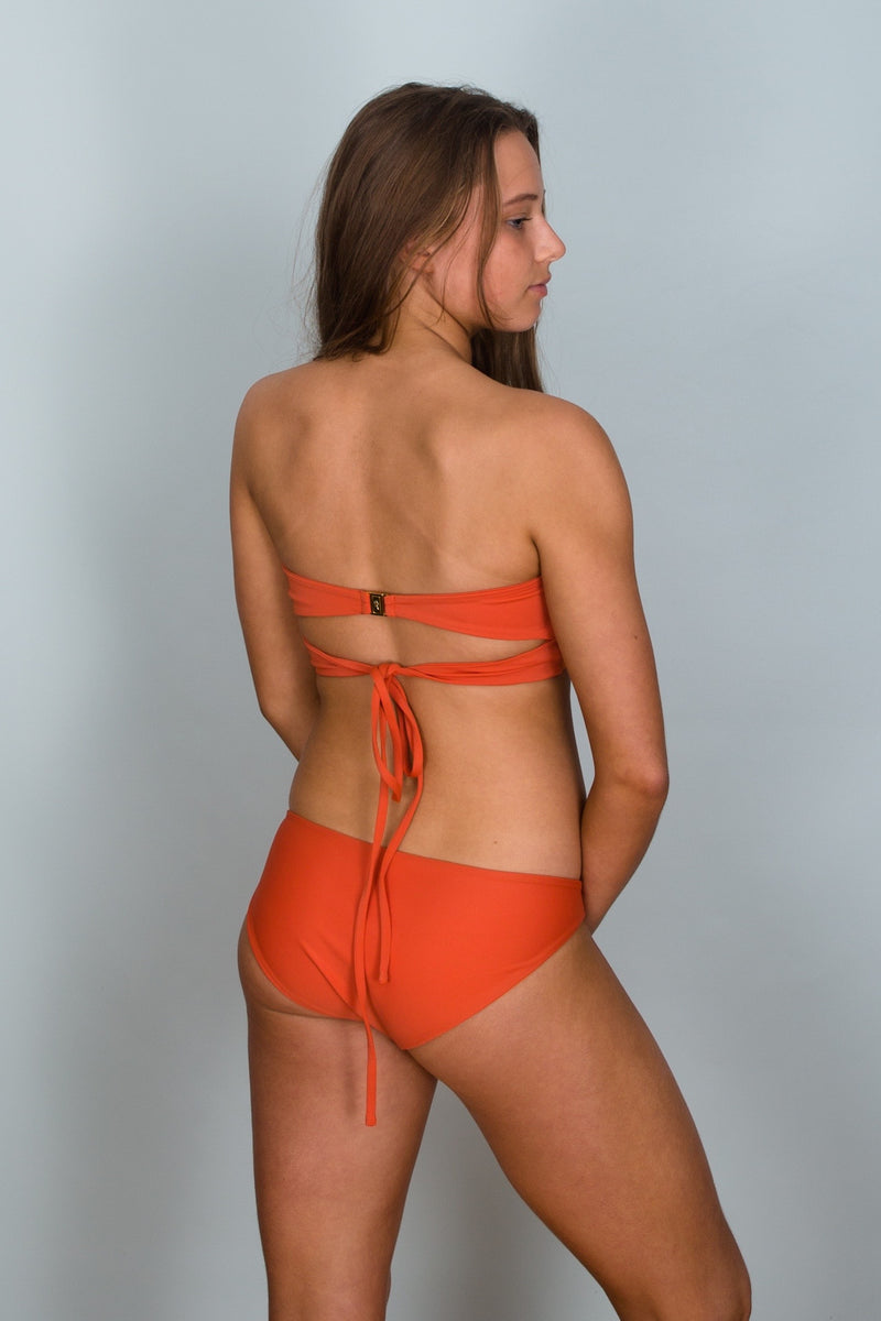Back view of Bronte Reversible Bikini Bottom