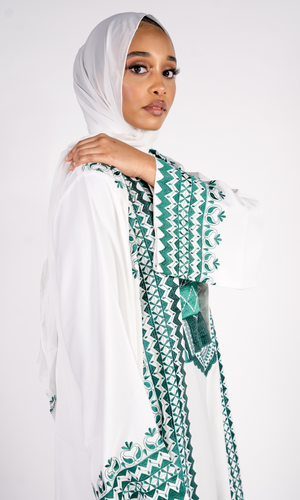 SHEIKHA EXCLUSIVE -  EMERALD ABAYA