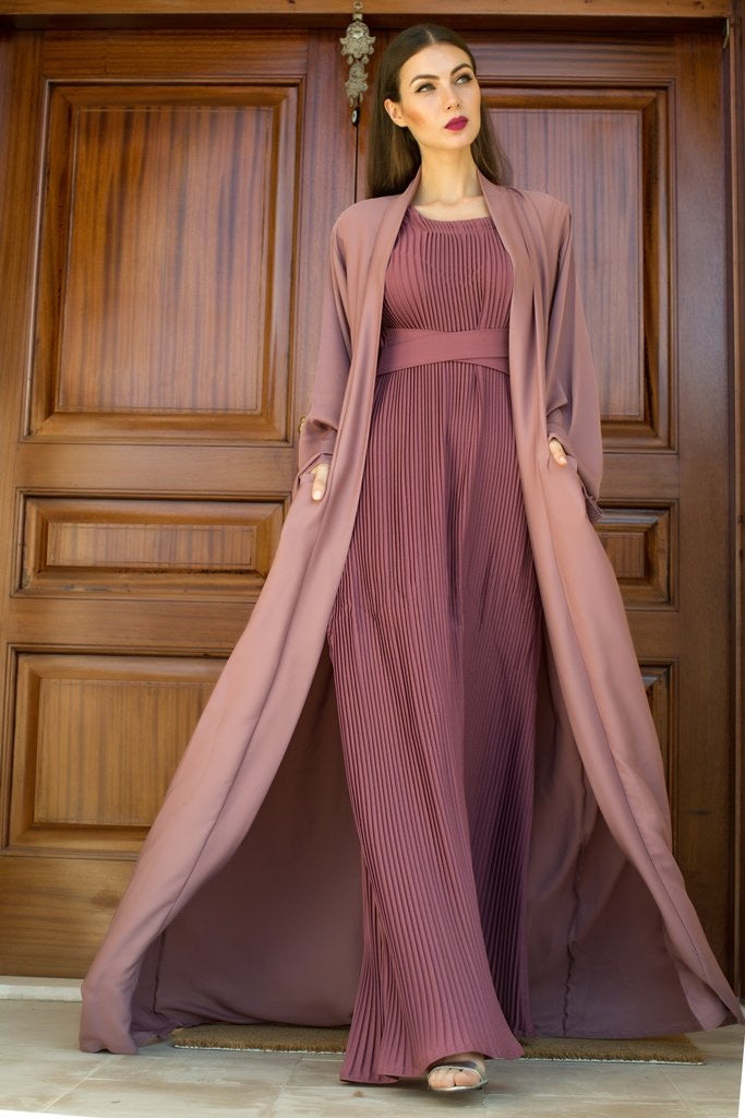 PASTEL TWO PIECE ABAYA