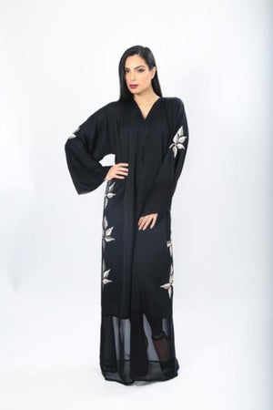 MARYAM EMBROIDED ABAYA