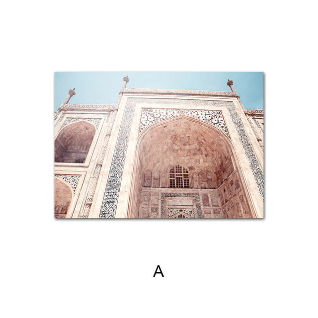 Islamic Architecture | Wall Art | Mosque Canvas
