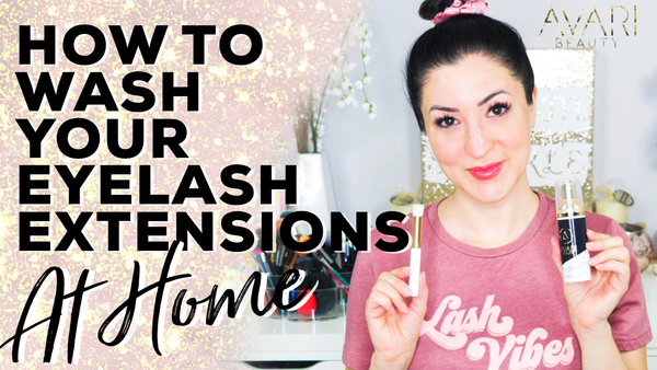 How To Wash Your Eyelash Extensions At Home