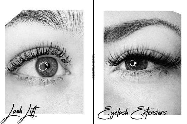 Lash Lifts vs. Lash Extensions – What's the Difference?