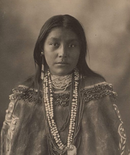 Hattie Tom, Apache, 1898 (Owned by Boston Public Library)