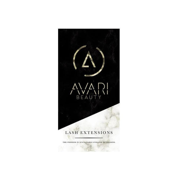 Soft Flat Classic Eyelash Extensions AVARI BEAUTY