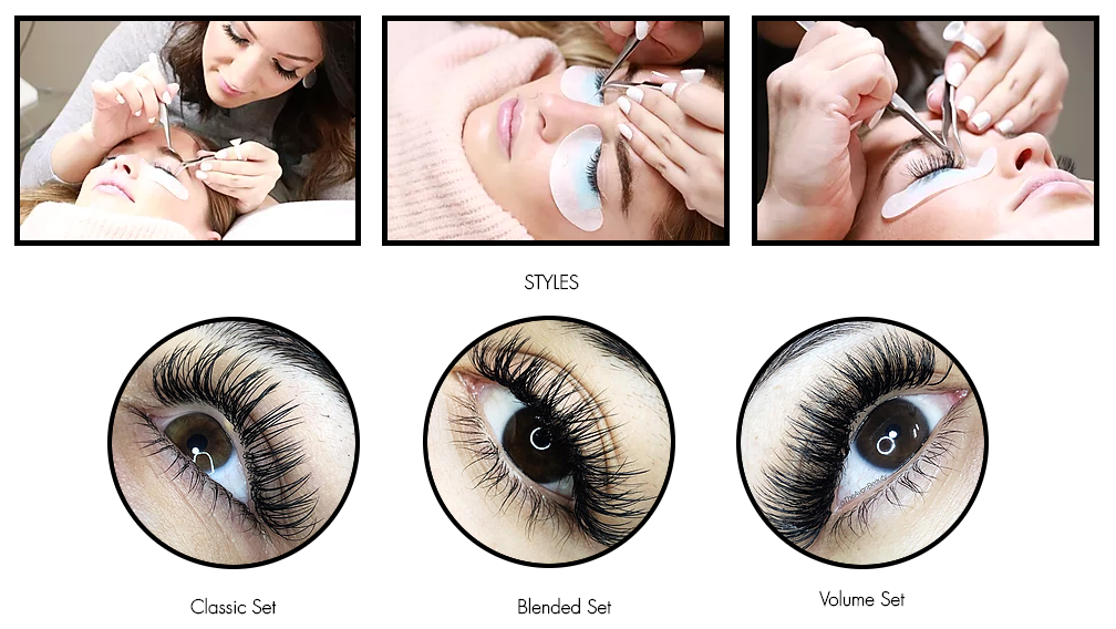 Professional eyelash extensions Shoreview, Minnesota