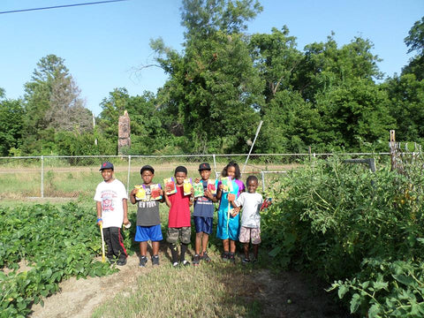 Mississippi Youth Community Gardens, Gunnison, MS promotes sustainable farming and healthy eating programs within the Mississippi Delta.