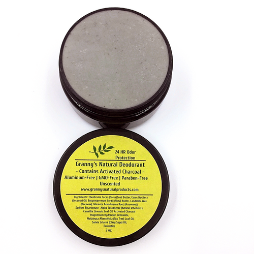 Granny's Natural Deodorant w/ Activated Charcoal