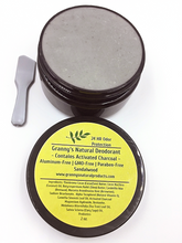 Load image into Gallery viewer, Granny's Natural Deodorant w/ Activated Charcoal