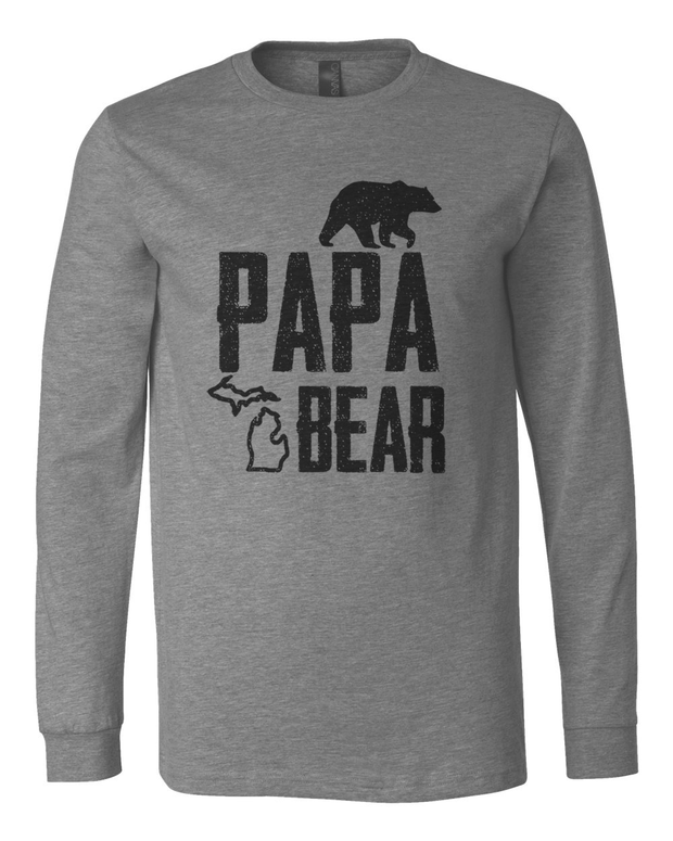 Papa Bear - Men's Long Sleeve