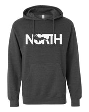 North - Unisex Hooded Sweatshirt