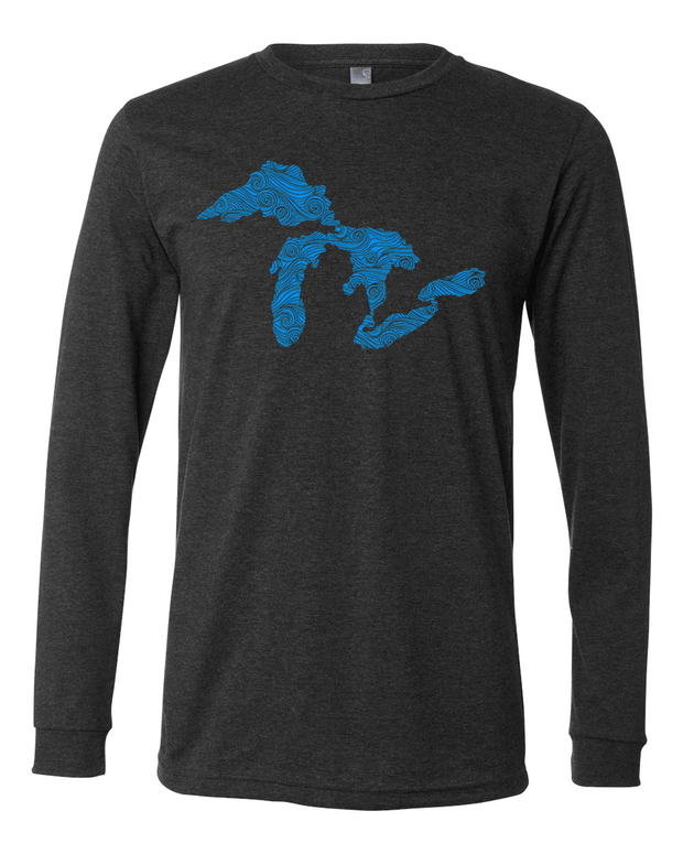 Swirling Water - Unisex Long Sleeve