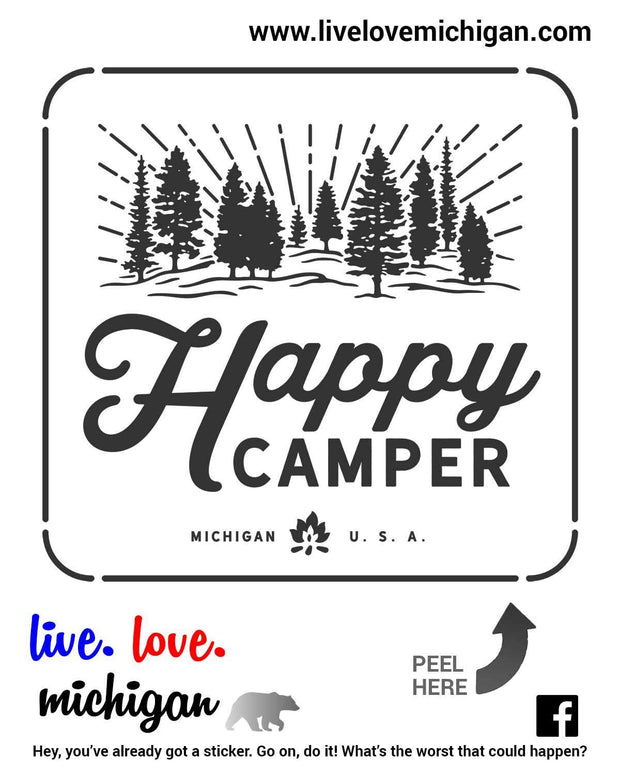 Decal - Happy Camper