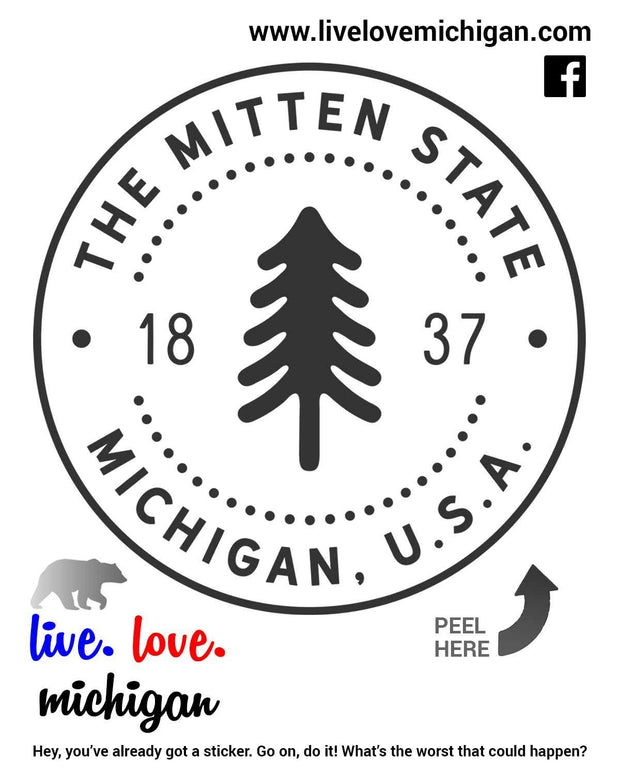 Decal - Mitten State