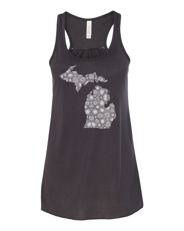 Petoskey Stone - Ladies' Flowy Tank