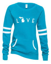 Love Arc - Ladies' Varsity Pullover