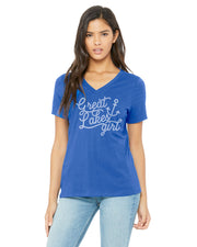 Great Lakes Girl - Ladies' V-Neck