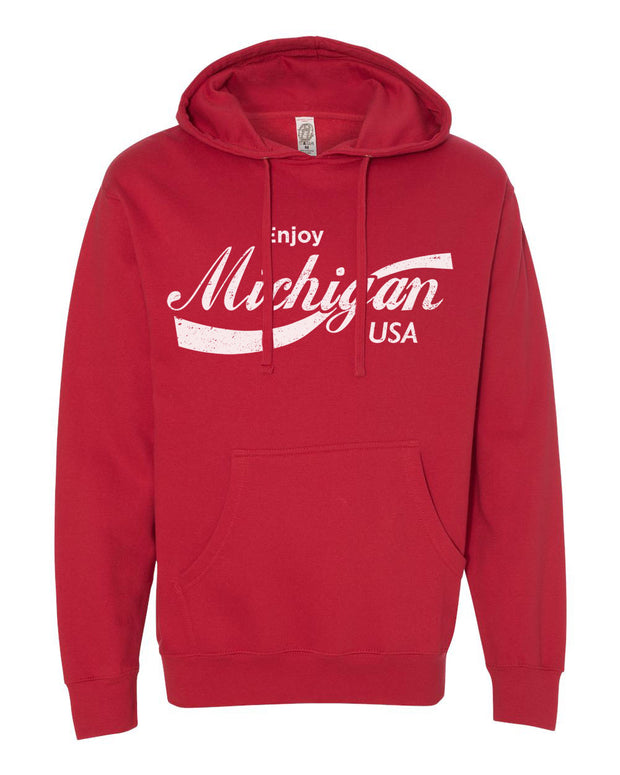 Enjoy Michigan - Unisex Hooded Sweatshirt