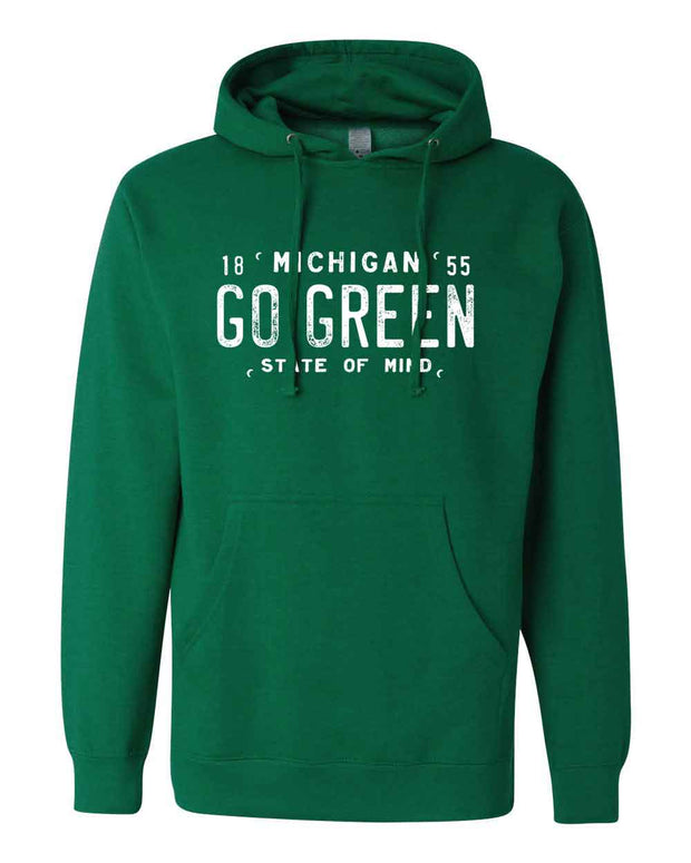 Go Green - Unisex Hooded Sweatshirt