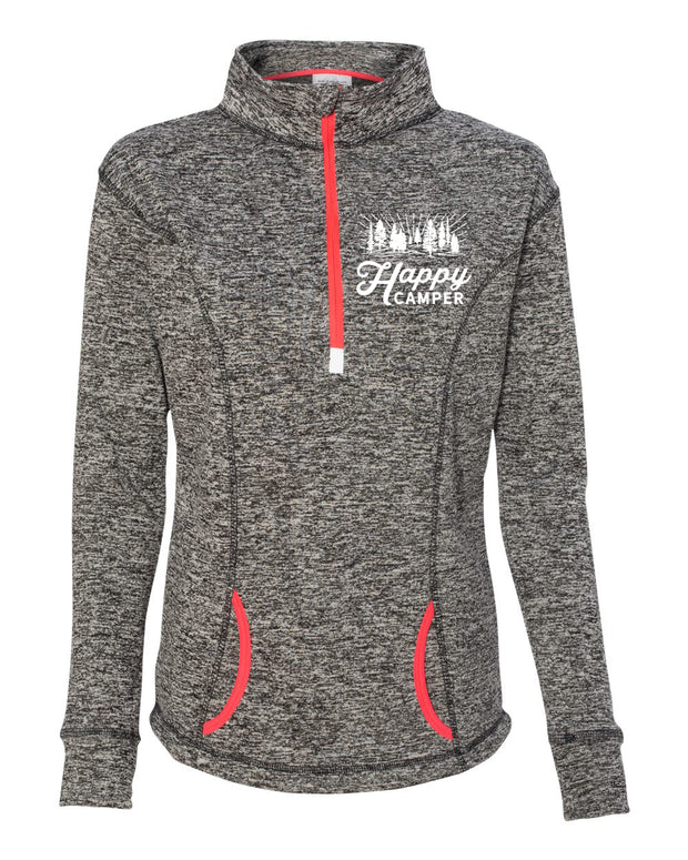 Happy Camper - Ladies' Fleck Fleece
