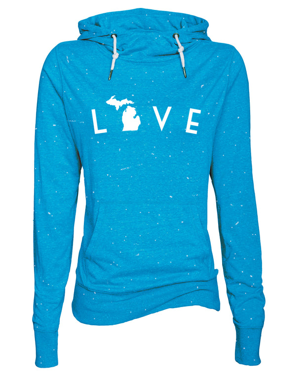 Love Arc - Ladies' Funnelneck Tee
