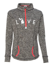 Love Arc - Ladies' Fleck Fleece
