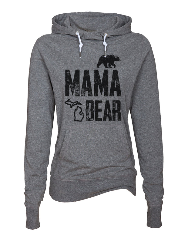 Mama Bear - Ladies' Funnelneck Tee