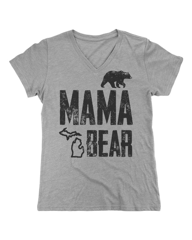 Mama Bear - Ladies' V-Neck