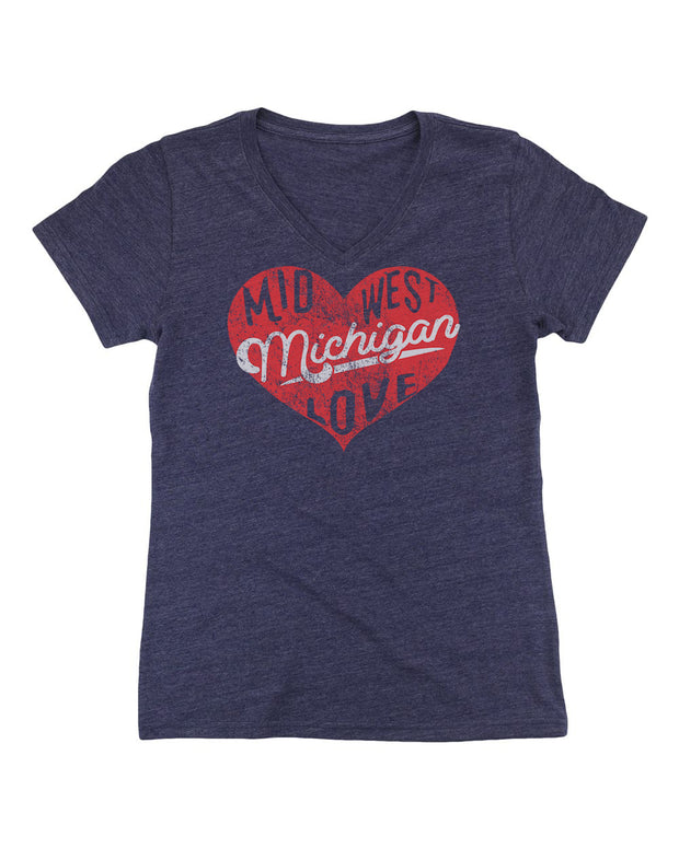 Midwest Love - Ladies' V-Neck